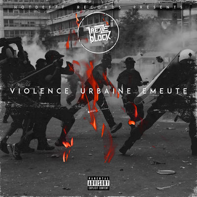 Violence urbaine émeute