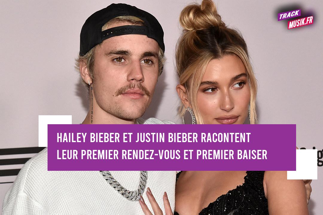 Hailey Baldwin Bieber et Justin Bieber : leur premier rendez-vous et leur premier baiser.