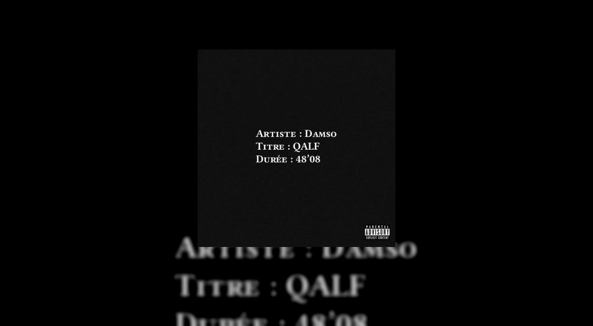 L'Album QALF de Damso est disponible !