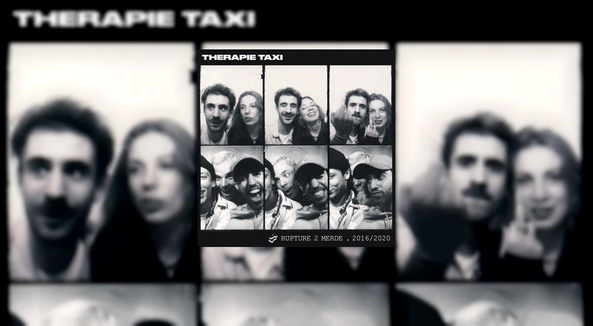 L'EP Rupture 2 merde de Therapie TAXI disponible en pré-commande !